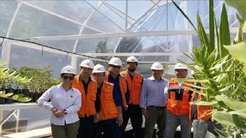 PTLA crea un invernadero sostenible con especies autóctonas