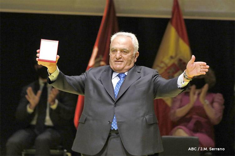 Manuel Contreras Ramos, galardonado con la Medalla de Sevilla 2021