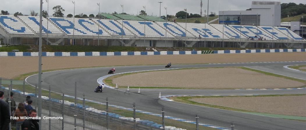 Mantenimiento del Circuito de Jerez de la Frontera